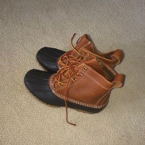 Women's L.L. Bean Boots Tan/Brown
